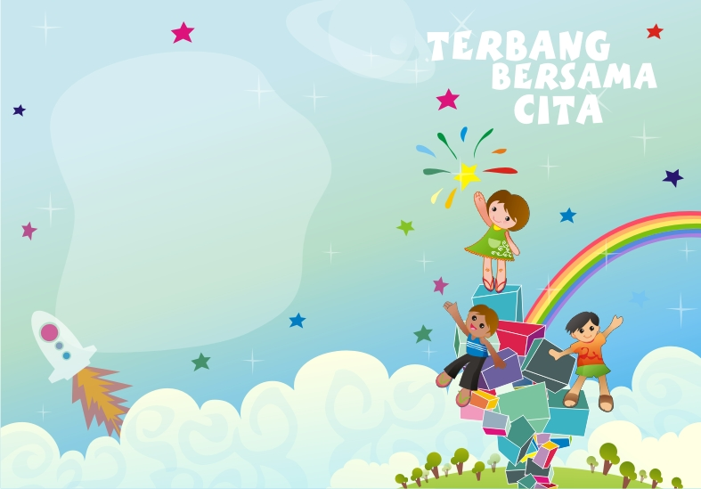 Book Cover Design Kids ~ Terbang bersama cita children s book cover helmy aulia